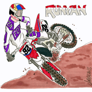 motocross cartoon 1