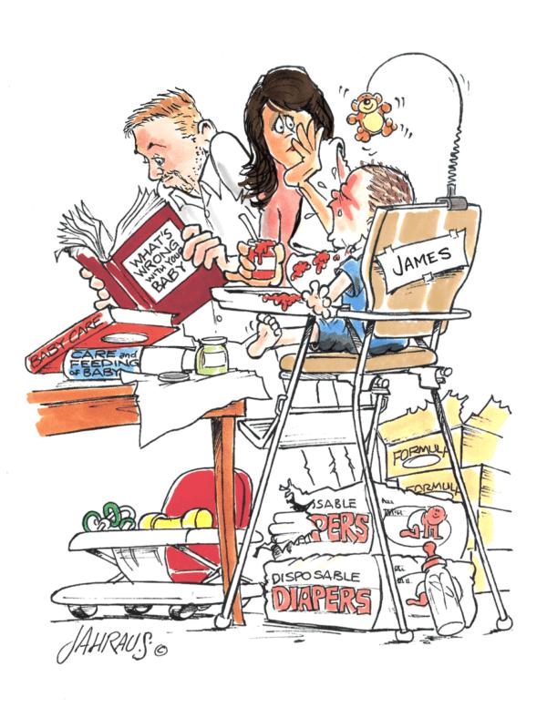 new parents cartoon 2
