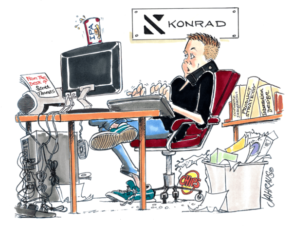 office worker cartoon 2