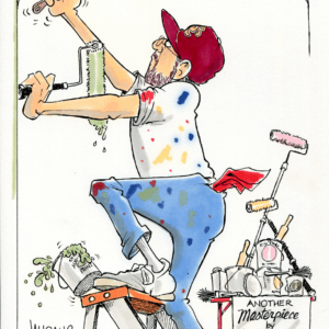 Painter Cartoons