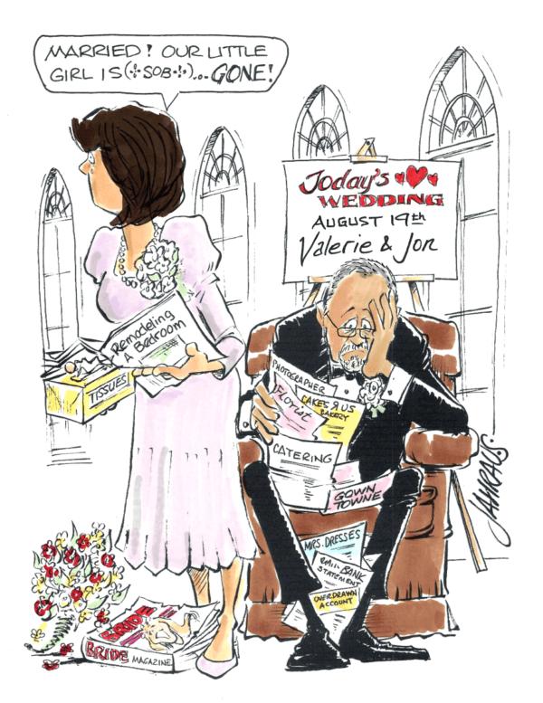 parents of the bride cartoon 2