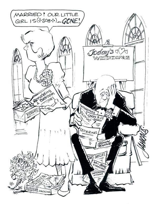 parents of the bride cartoon 3