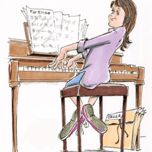 pianist cartoon 1