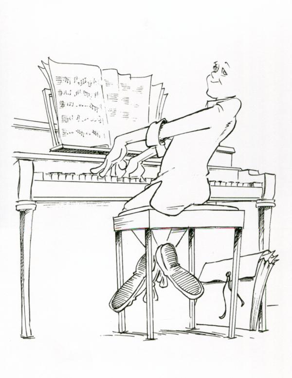 pianist cartoon 3