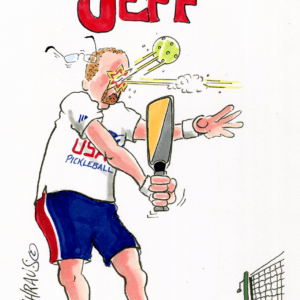 pickleball cartoon 1