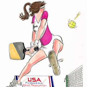 pickleball return cartoon 1