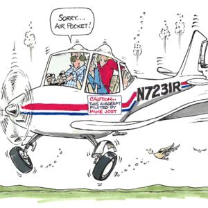 pilot cartoon 1