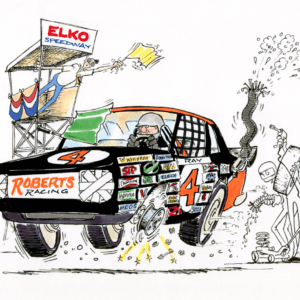 racing cartoon 1