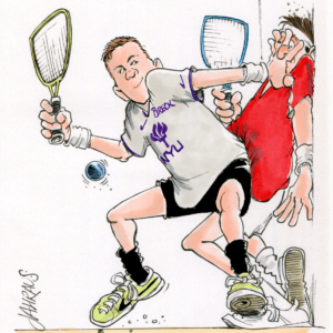 racquetball cartoon 1