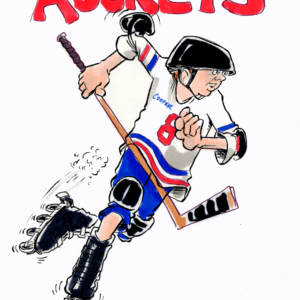 rollerblader cartoon 1