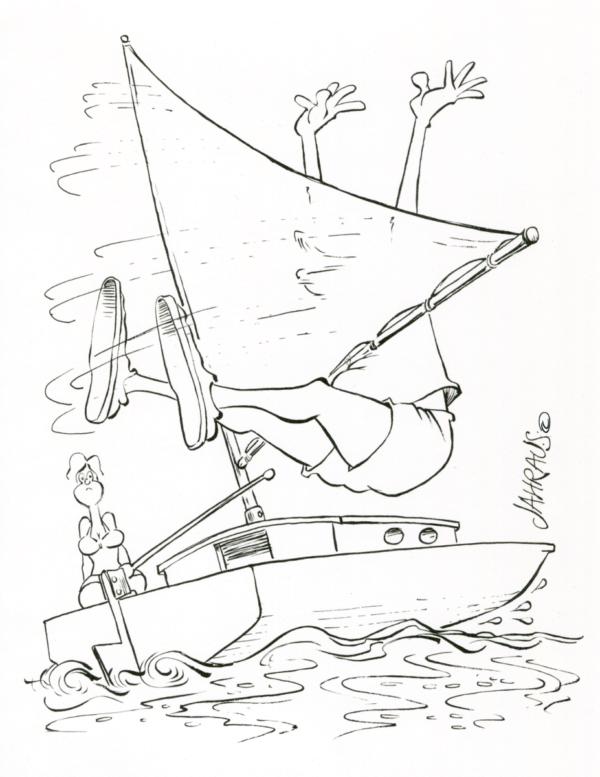 sailing cartoon 3