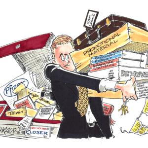 salesman cartoon 1