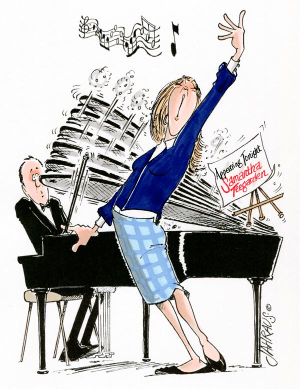 singer cartoon 1