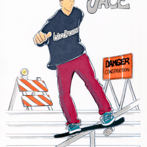 Skateboarder Cartoons