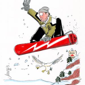 snowboard cartoon 1