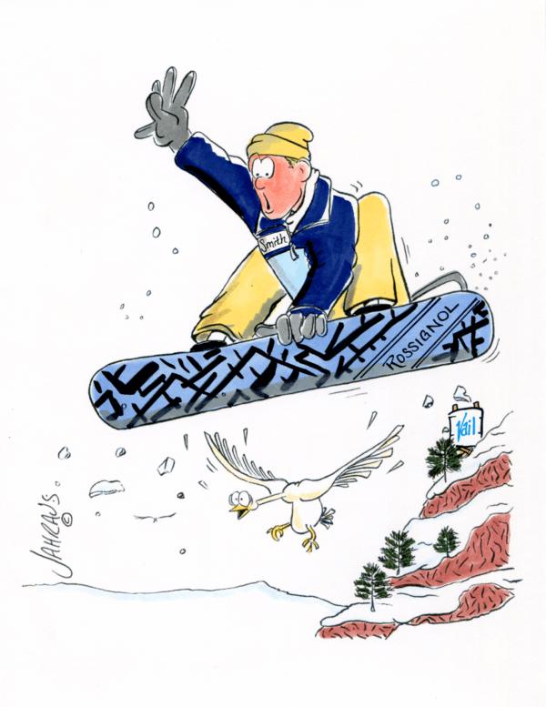 snowboard cartoon 2