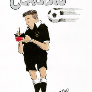 soccer referee cartoon 1