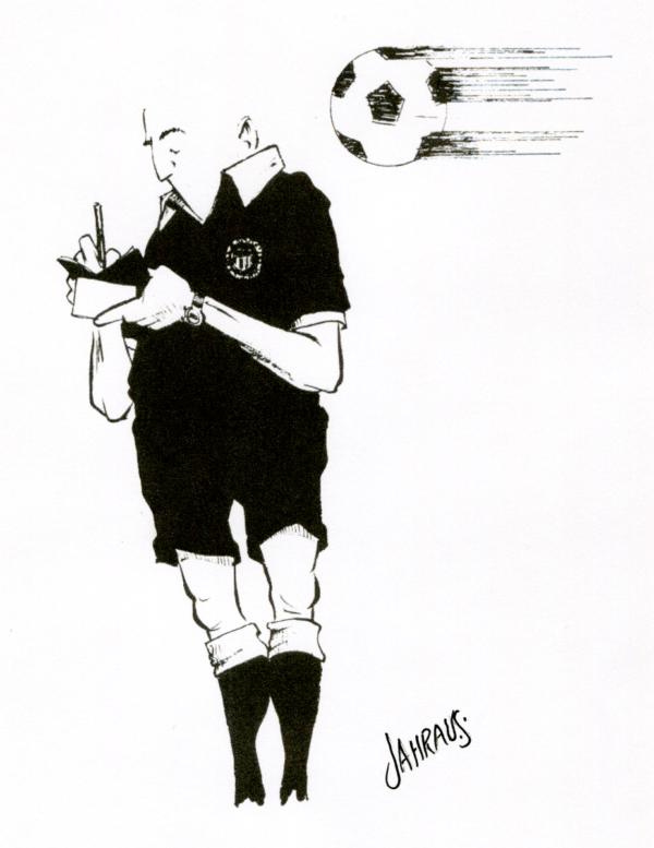 soccer referee cartoon 3