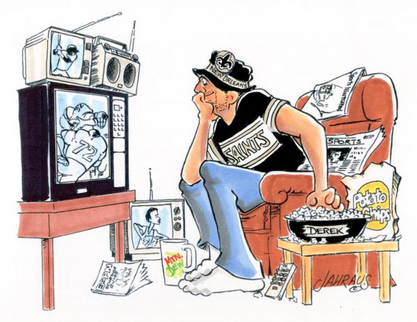sports fan cartoon 2
