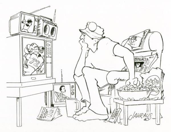 sports fan cartoon 3