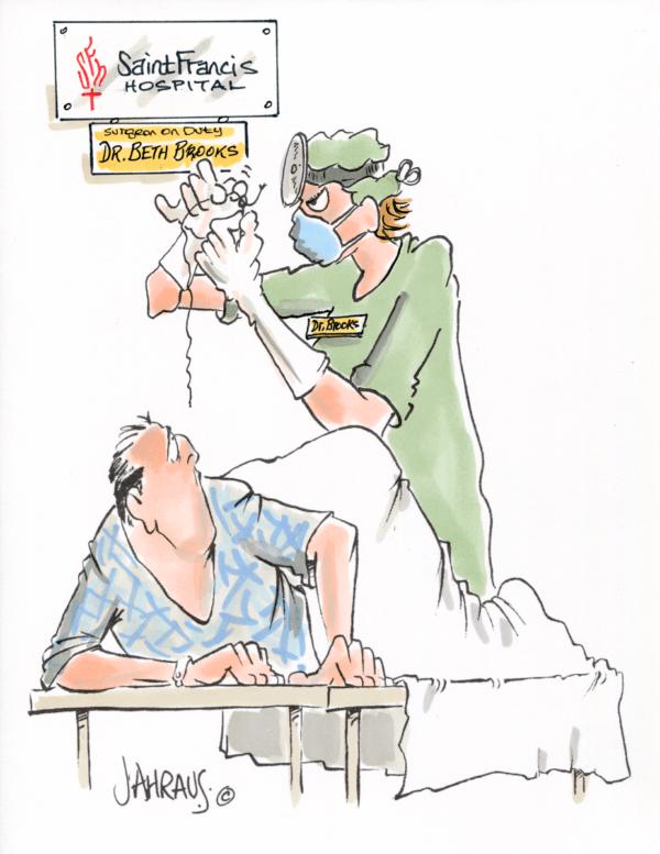 surgeon cartoon 2