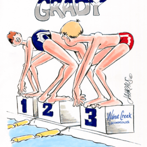 Swimmer Cartoons