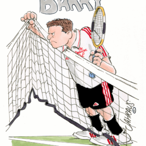 tennis net cartoon 1