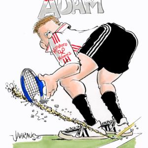 Tennis Player Cartoons