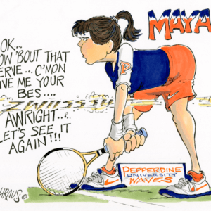 tennis taunt cartoon 1