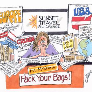 Travel Agent Cartoons