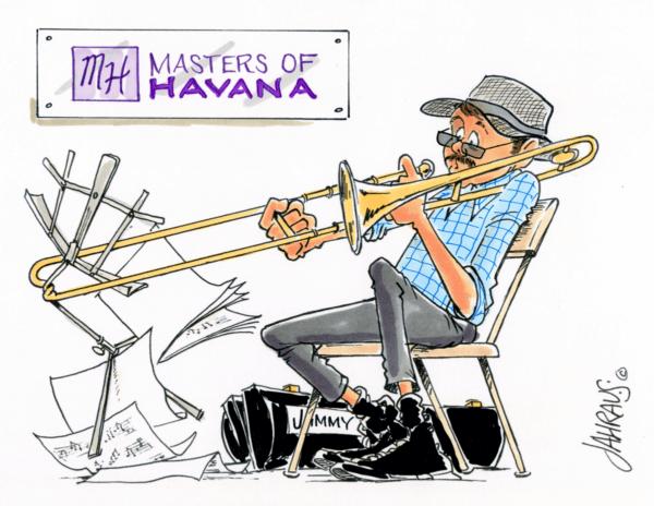 trombonist cartoon 2