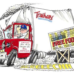 trucker cartoon 1