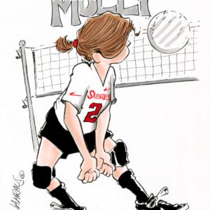 volleyball cartoon 1