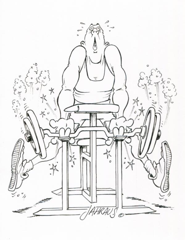 weightlifter cartoon 3