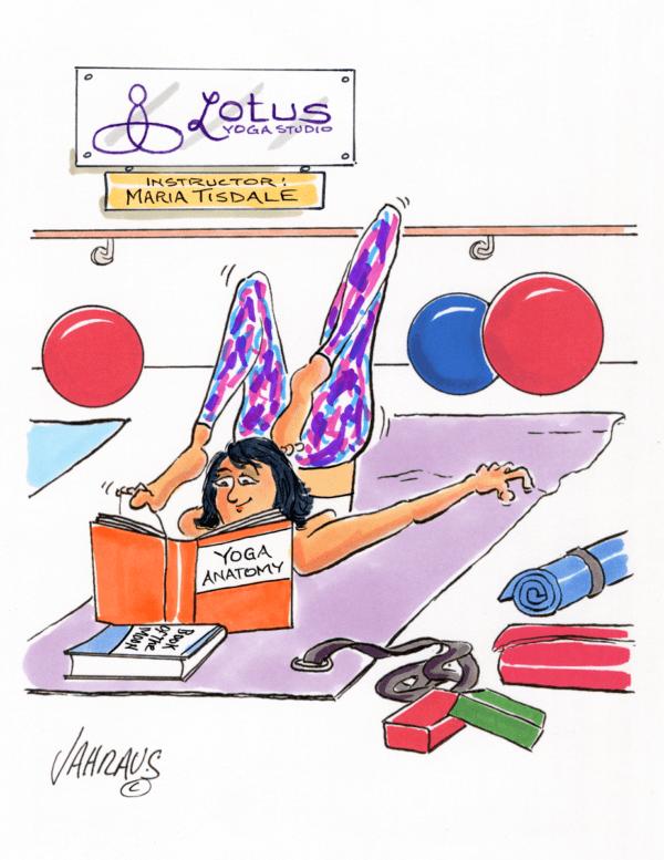 yoga cartoon 1