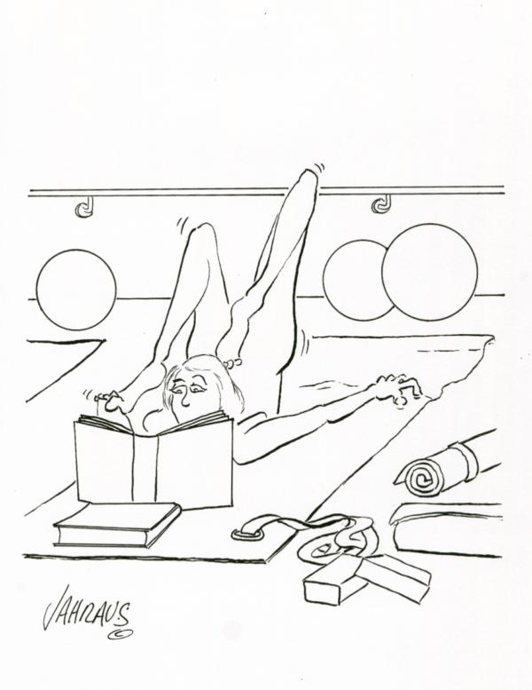 yoga cartoon 3